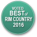 Voted Best Chiropractor of Rim Country 2016